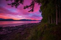 Sunset Sunrise Yukon River